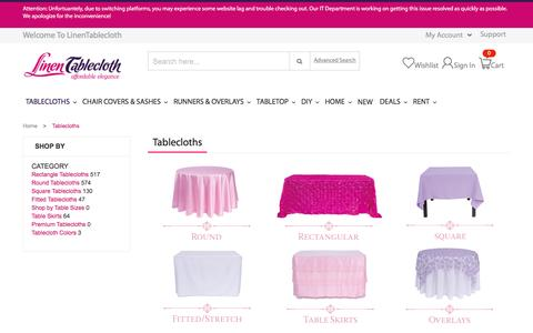 Tablecloths: Online Tablecloth Shopping