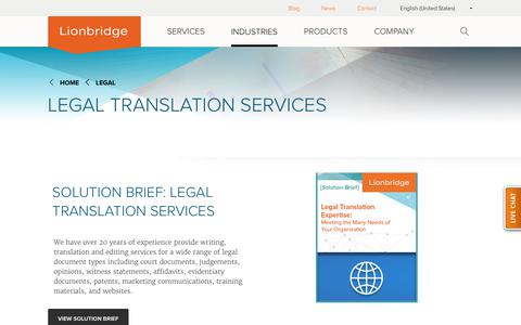 Legal Translation Services | Legal Document Translation