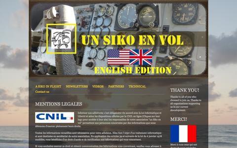 Screenshot of About Page unsikoenvol.fr - About - Site de unsikoenvol ! - captured Oct. 9, 2014