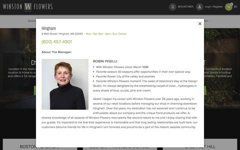 Hingham Square's Best Florist | Winston Flowers