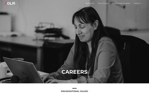 Screenshot of Jobs Page olrretail.com - OLR - Careers - captured Dec. 20, 2018