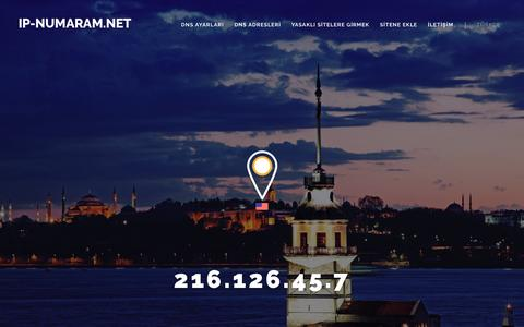 Screenshot of Home Page ip-numaram.net - IP Numaram - IP Numaram Ne - IP Numarası Öğrenme - captured March 4, 2017