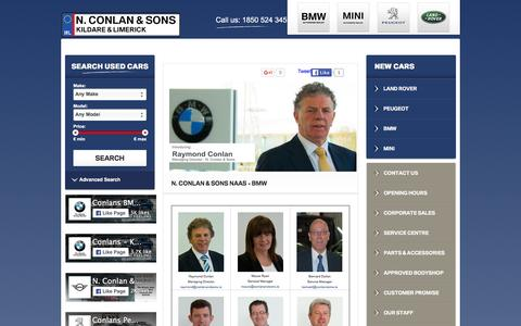 Screenshot of Team Page conlans.ie - Meet Our Team - captured Feb. 16, 2016