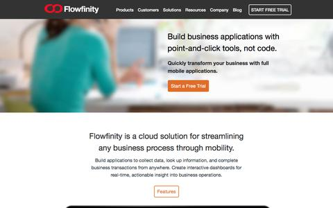 Low Code Mobile Platform for Business Process Management | Flowfinity