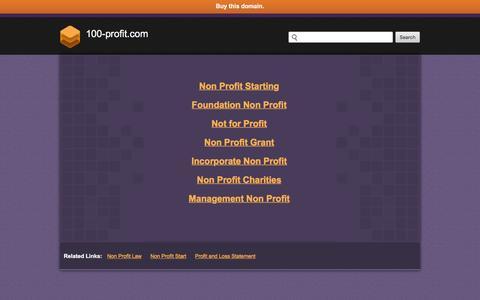 Screenshot of Home Page 100-profit.com - 100-profit.com - captured Jan. 18, 2016