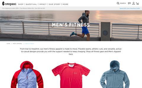 Men's Fitness                      – Cotopaxi