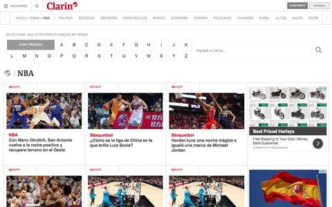 Nba – Clarín.com