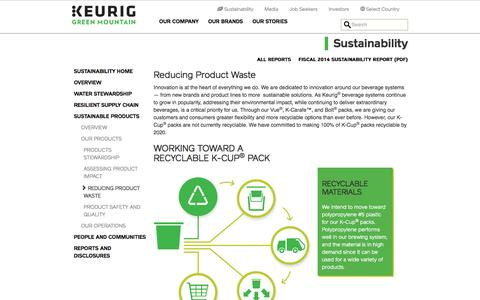 Reducing Product Waste