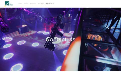 Screenshot of Contact Page totalconceptprojects.com - Contact Us — Total Concept Projects - captured Dec. 13, 2016