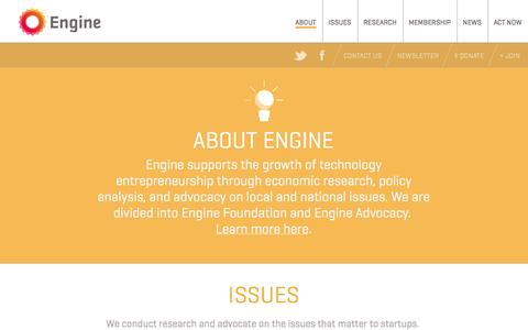 Screenshot of About Page engine.is - Engine —   About - captured Oct. 2, 2014