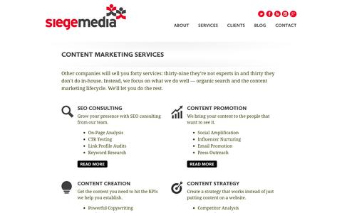 Content Marketing Services from Siege Media
