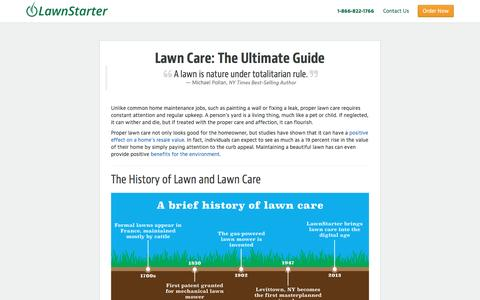 Lawn Care: The Ultimate Guide | Find Lawn Care Near You | LawnStarter, the easiest way to order lawn care.