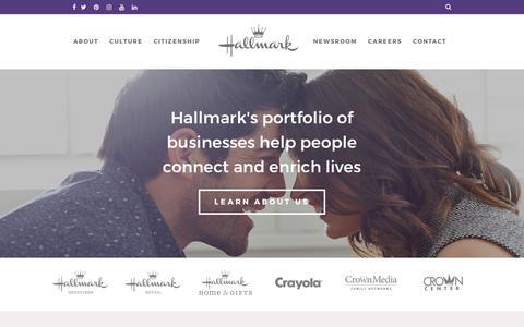Home | Hallmark Corporate Information