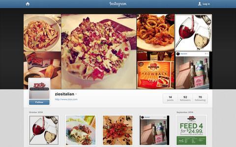 Screenshot of Instagram Page instagram.com - Instagram - captured Oct. 27, 2014