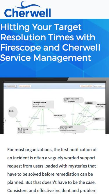 Webinar | Hitting Your Target Resolution Times with Firescope and CSM