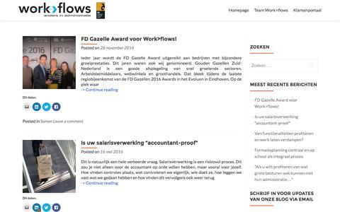 Screenshot of Blog work-flows.nl - Blog – Work>Flows - captured Dec. 18, 2016