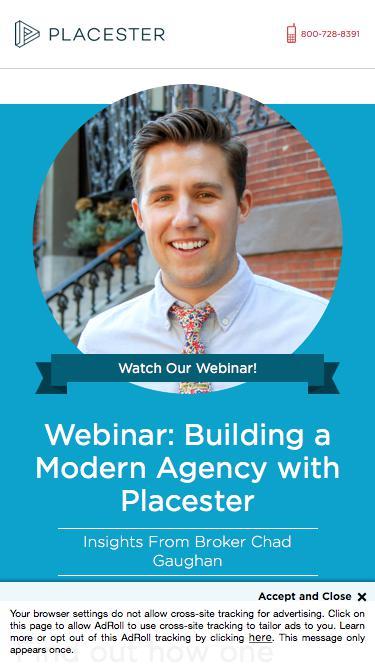 Marketing Real Estate Brokers Online: Placester Webinar