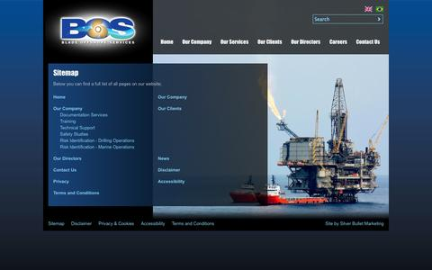 Screenshot of Site Map Page bladeoffshore.com - Sitemap | Blade Offshore - captured Oct. 5, 2014