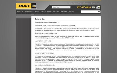 HoltCAT > Terms