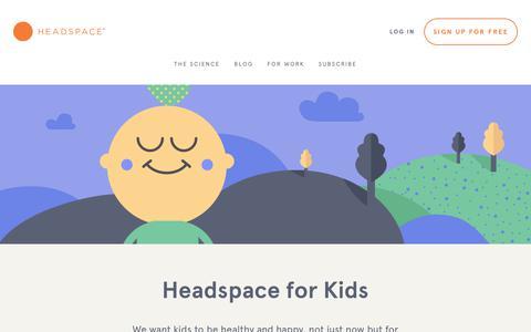 headspace com's Web Marketing Designs | Healthcare & Medical