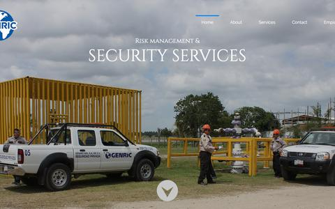 Screenshot of Home Page genric.com - Genric - captured July 17, 2018