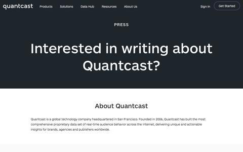 Press Resources | Quantcast
