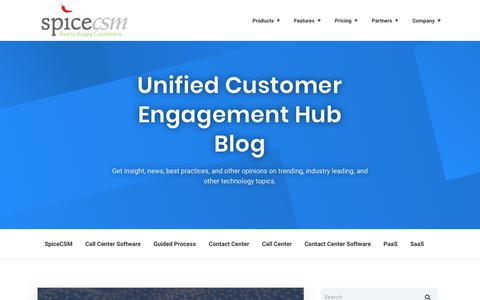 Unified Customer Engagement Hub Blog
