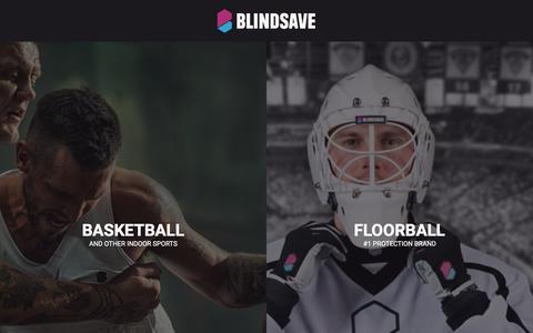 Screenshot of Home Page blindsave.com - Blindsave - captured May 31, 2017