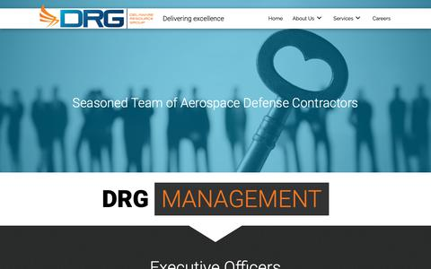 Screenshot of Team Page drgok.com - Aerospace Defense Company in Oklahoma City, OK - captured May 16, 2019