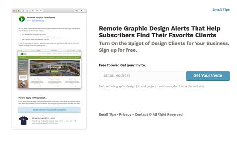 Screenshot of Home Page folyo.me - Remote Graphic Design Jobs and Projects for Freelance Designers - Folyo - captured Aug. 18, 2018