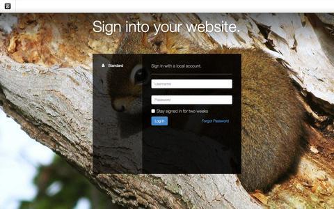 Screenshot of Login Page drgok.com - Delaware Resource Group :: Login - captured Dec. 27, 2015