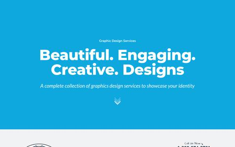 Screenshot of Services Page mainstreethost.com - Professional Graphic Design Services | Mainstreethost - captured March 26, 2018