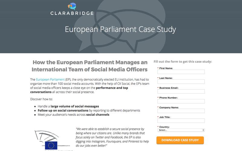 European Parliament Case Study