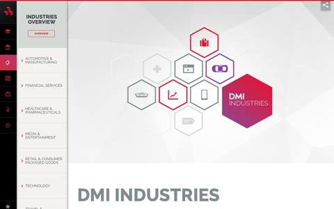 Industry & Government Solutions - DMI