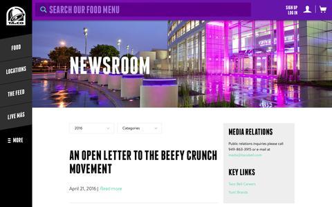 Taco Bell Newsroom - Taco Bell