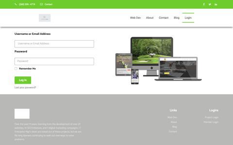 Screenshot of Login Page rtmgt.com - Member Login - rT Mgt - captured Nov. 19, 2018