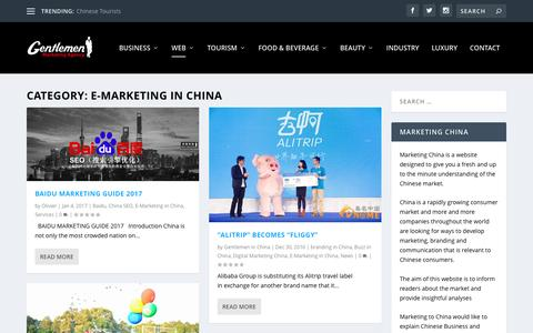 E-Marketing in China Archives - Marketing China