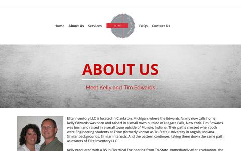 Screenshot of About Page eliteinventoryllc.com - About Us | Elite Inventory LLC - captured July 17, 2018