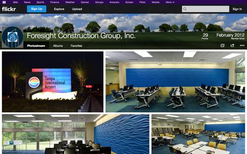 Screenshot of Flickr Page flickr.com - Flickr: Foresight Construction Group, Inc.'s Photostream - captured Oct. 23, 2014