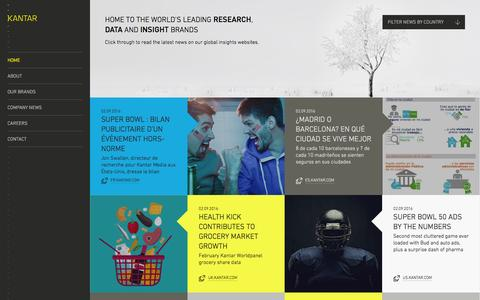 Research, data and insight consultancy | Kantar
