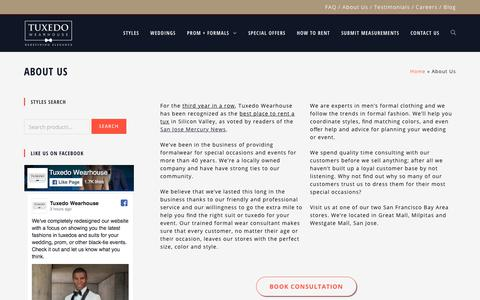 About Us - Tuxedo Wearhouse