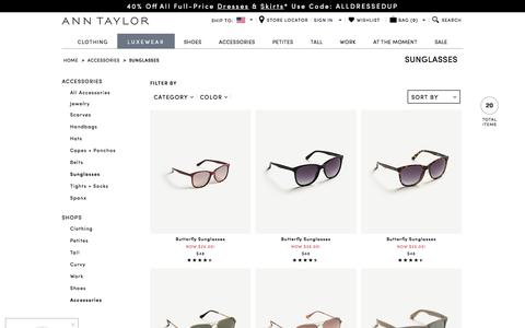 Women's Sunglasses - Aviators, Cateye and Oversized | ANN TAYLOR