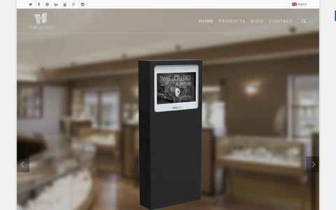 Screenshot of Home Page holografyx.com - Holografyx ® International - captured Jan. 30, 2016