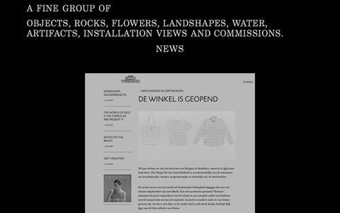 Screenshot of Press Page pimleenen.nl - Pim Leenen - captured Oct. 2, 2014