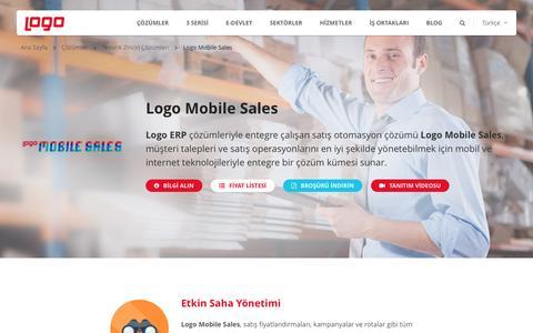 Logo Mobile Sales - Satış Otomasyonu | Tedarik Zinciri | Logo