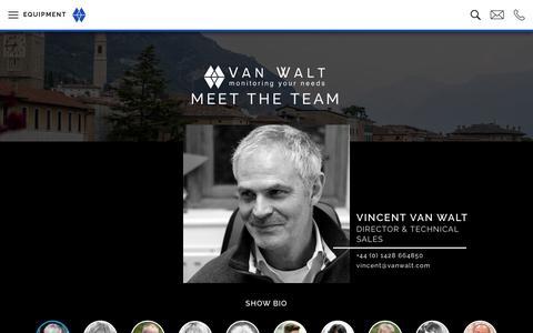 Screenshot of Team Page vanwalt.com - Meet the Team | Van Walt UK, New Zealand & Spain - captured July 1, 2018