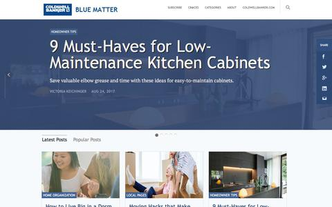 Coldwell Banker Blue Matter - The part of the brain that thinks about real estate