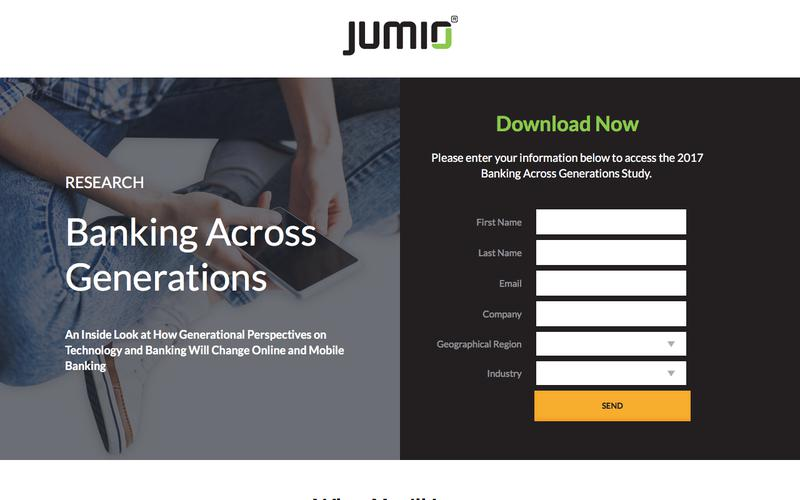 Jumio's 2017 Banking Across Generations Study