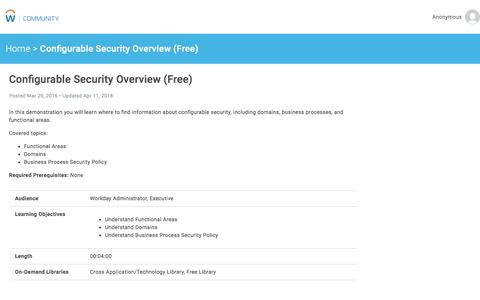 Configurable Security Overview (Free)   Workday Community