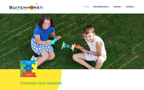 Screenshot of Home Page buitenhorst.nu - Home - Buitenhorst - captured Nov. 13, 2018